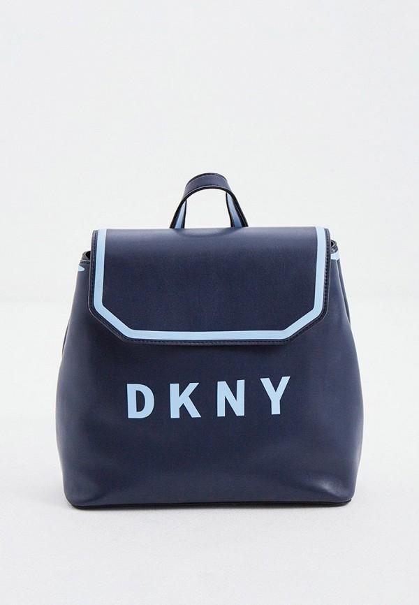 женский рюкзак dkny, синий