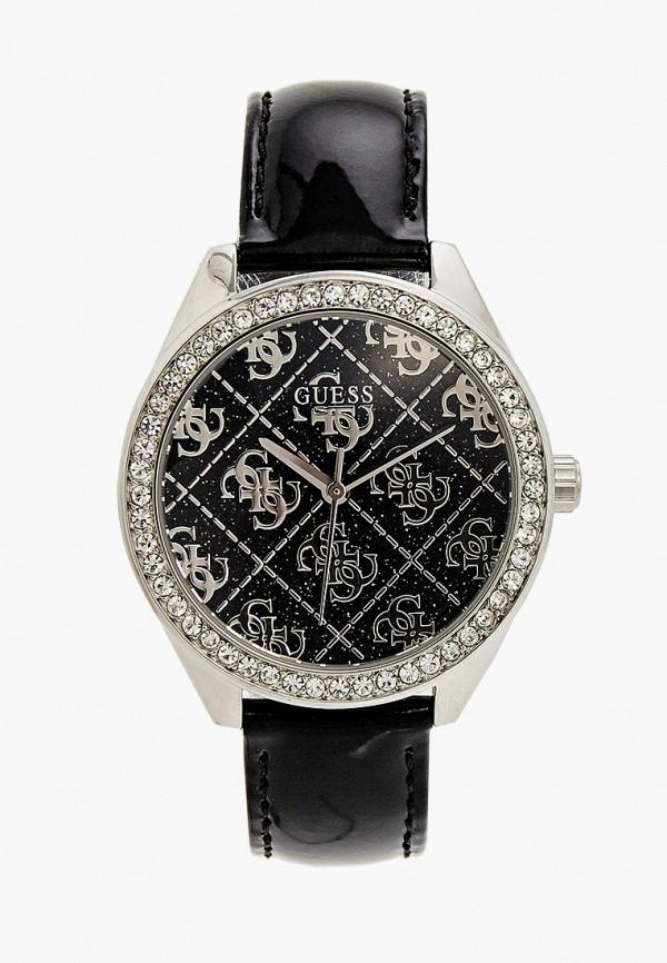 женские часы guess, черные
