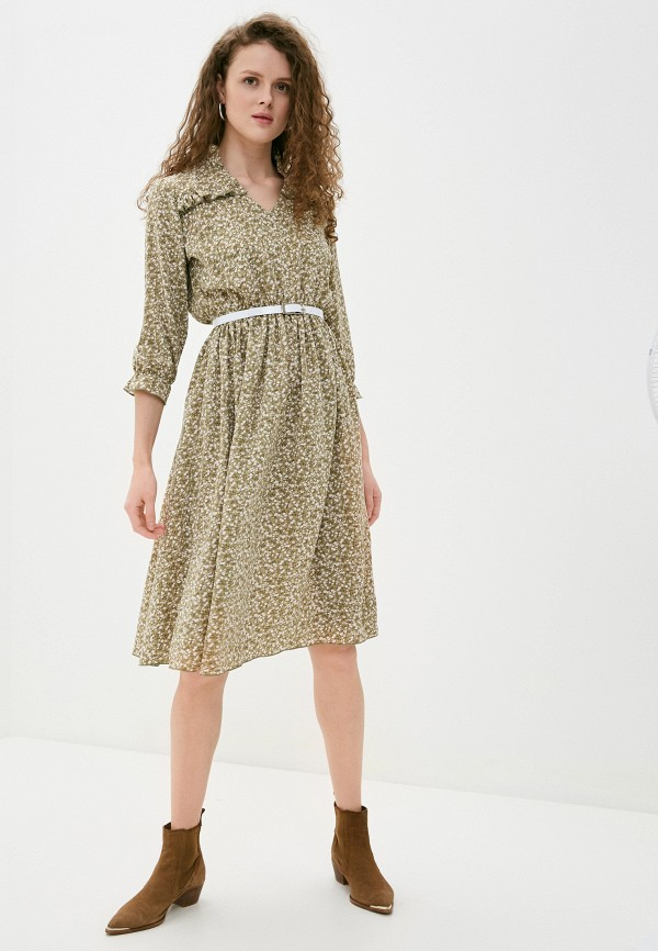 женское повседневные платье imocean, хаки