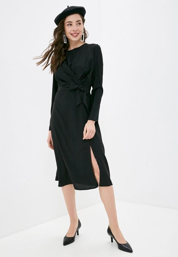 женское повседневные платье imocean, черное