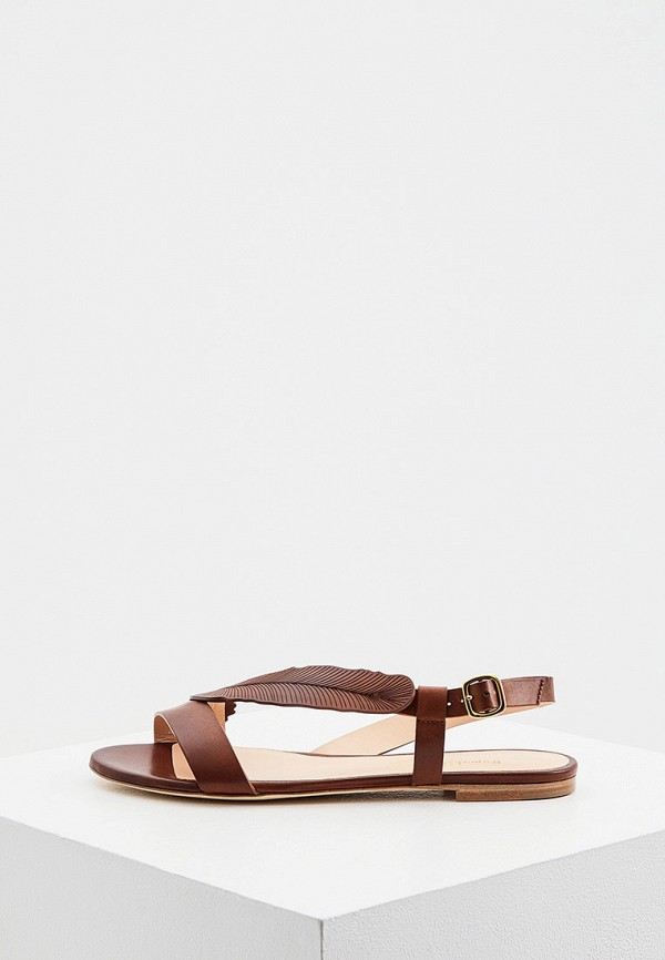 женские сандалии rupert sanderson, коричневые