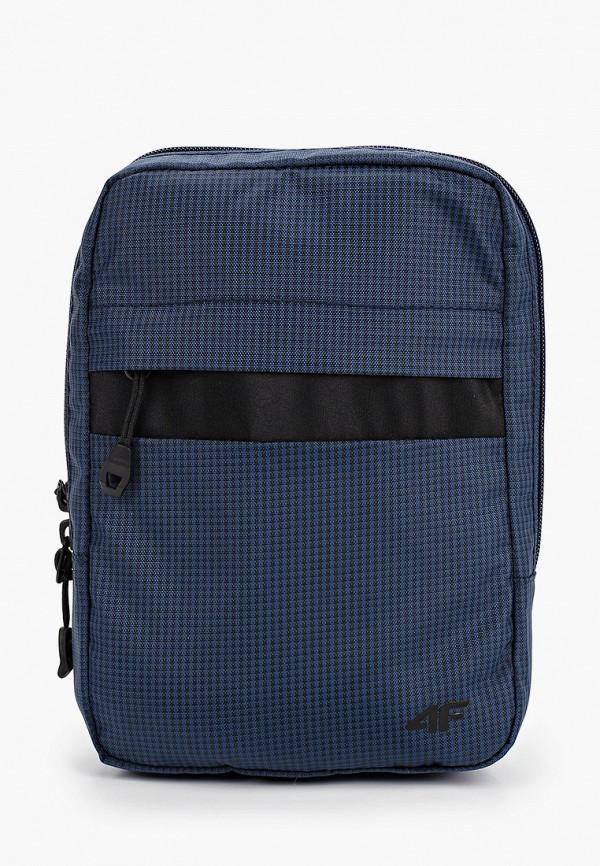 женская сумка через плечо 4f, синяя