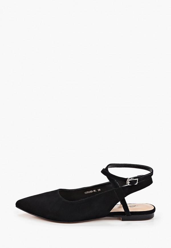 женские туфли corso como, черные