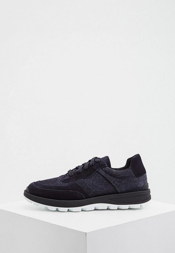 мужские кроссовки etro, черные