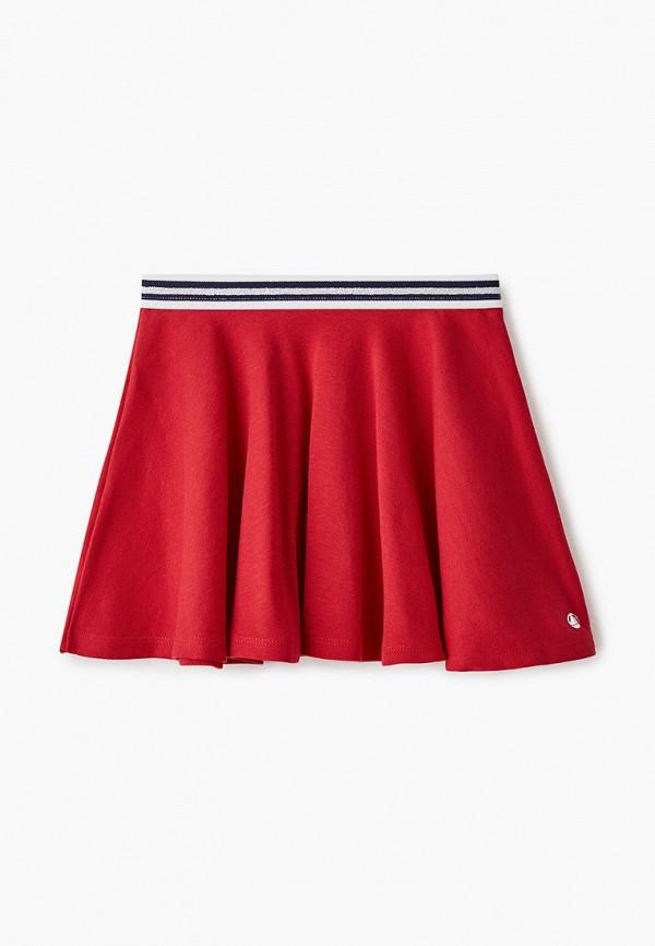 юбка petit bateau для девочки, красная