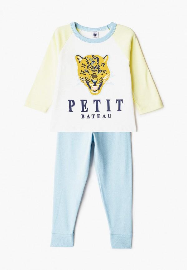 пижама petit bateau малыши, разноцветная