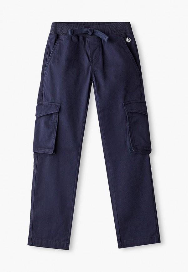 брюки petit bateau для мальчика, синие