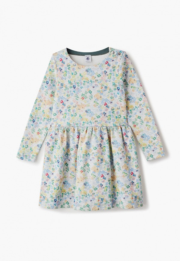 повседневные платье petit bateau для девочки, разноцветное