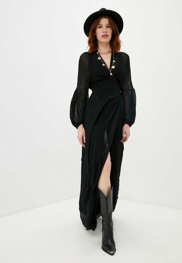 женское вечерние платье dondup, черное