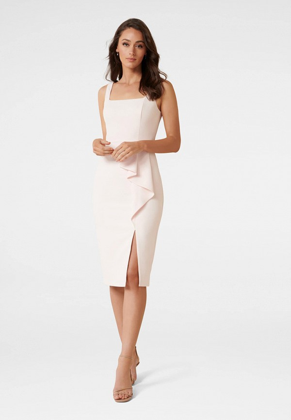 женское платье-футляр forever new, розовое