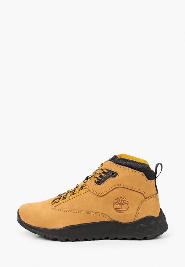 ботинки timberland для мальчика, оранжевые