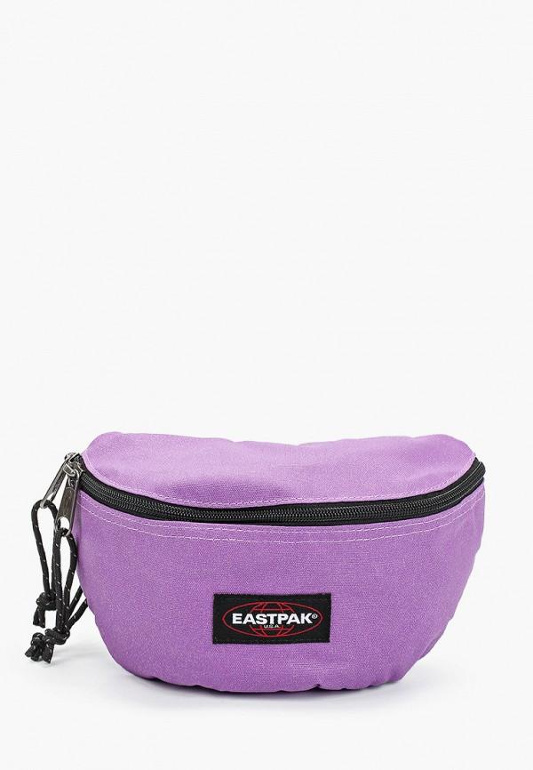 женская сумка eastpak, фиолетовая