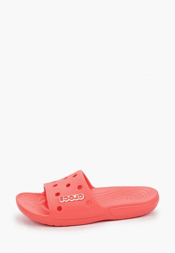 женские сланцы crocs