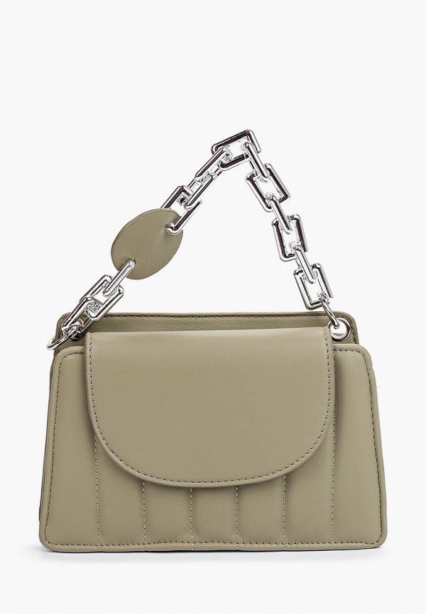 женская сумка с ручками allegri, хаки