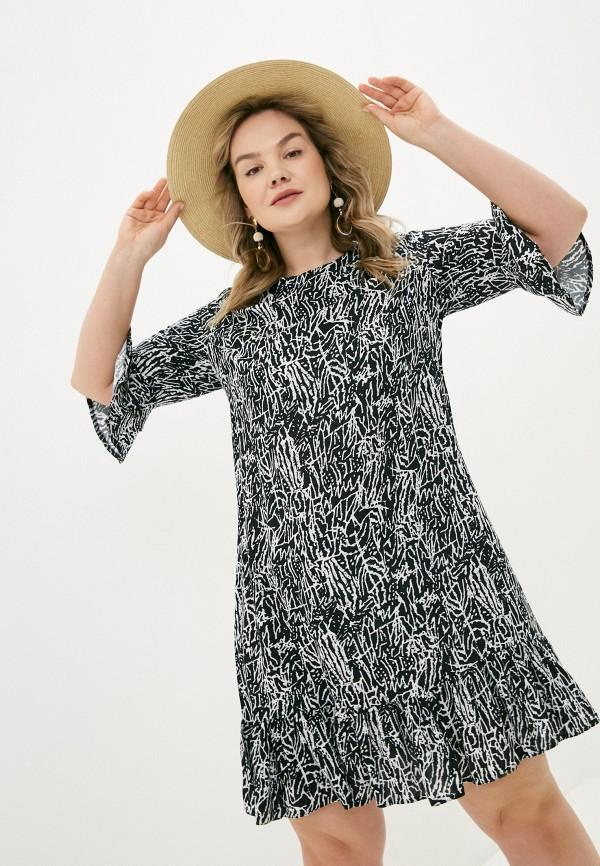 женское повседневные платье allegri, черное