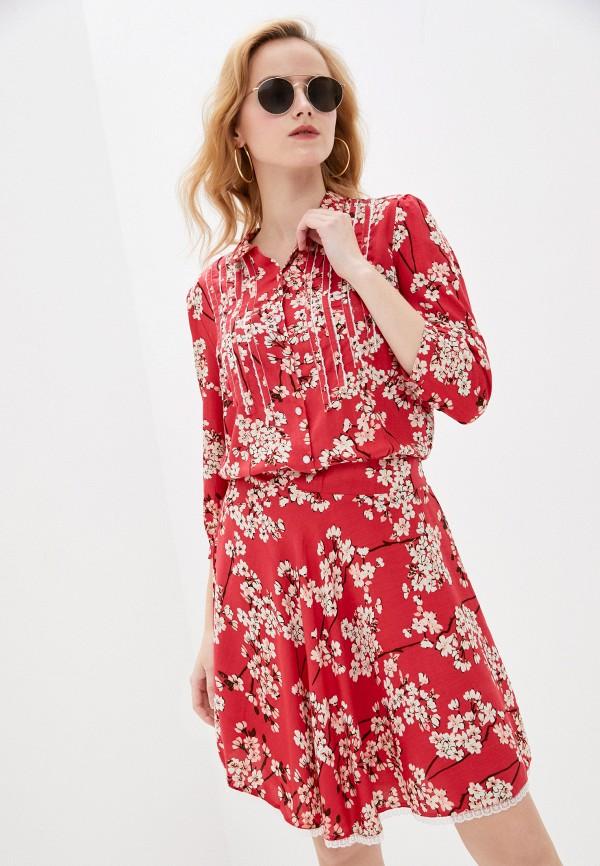 женское платье allegri, розовое