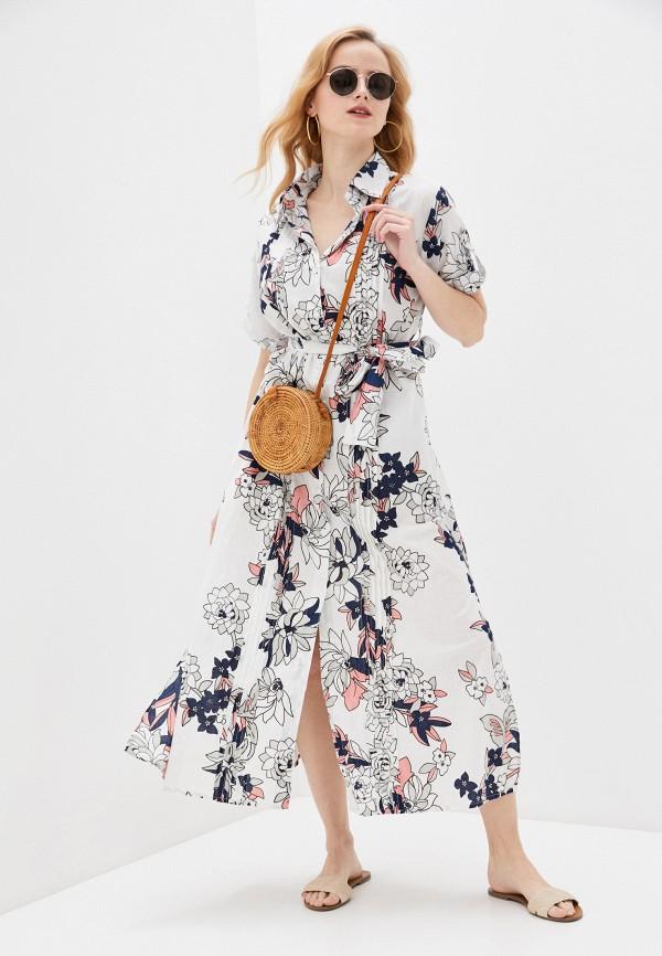 женское платье allegri, серое