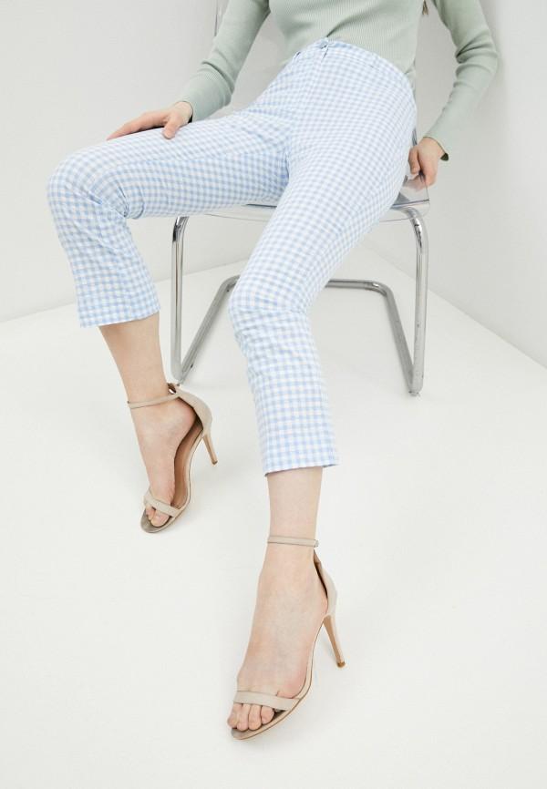 женские повседневные брюки guess, голубые