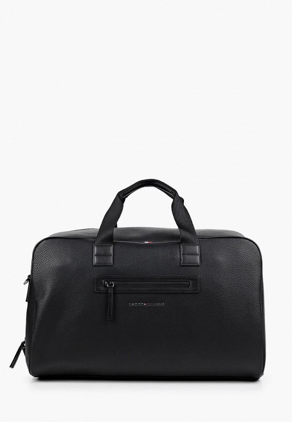 мужская дорожные сумка tommy hilfiger, черная