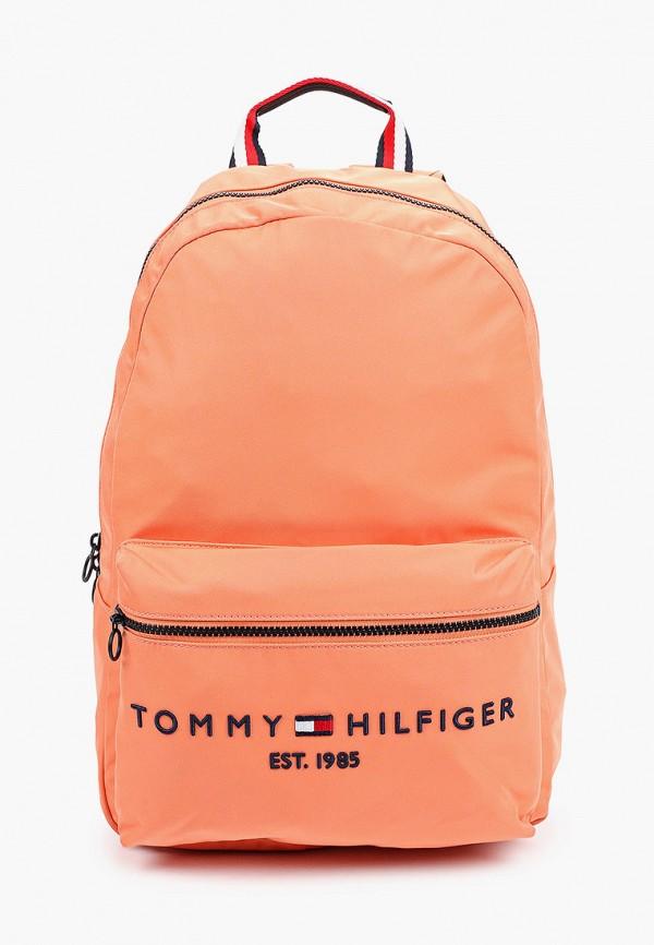 женский рюкзак tommy hilfiger, оранжевый