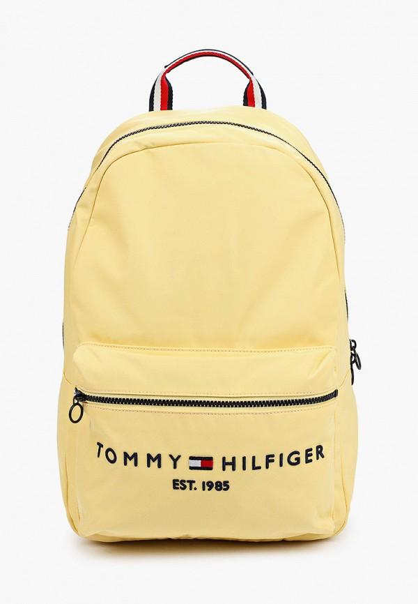 женский рюкзак tommy hilfiger, желтый