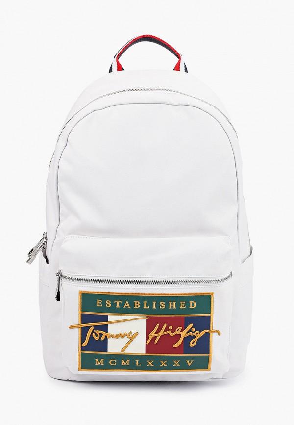 женский рюкзак tommy hilfiger, белый