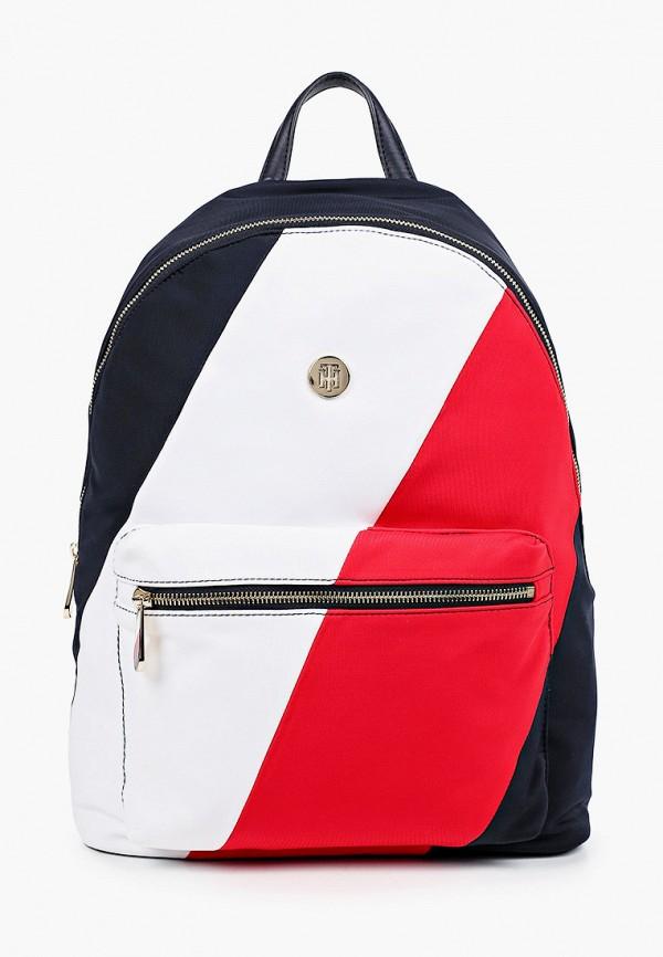 женский рюкзак tommy hilfiger, разноцветный