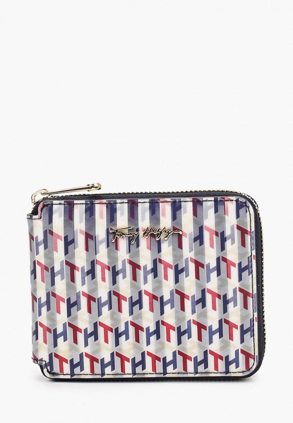 женский кошелёк tommy hilfiger, разноцветный