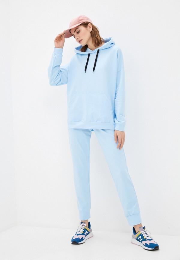 женский спортивный костюм winzor, голубой