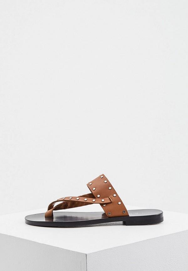 женские сандалии iro, коричневые