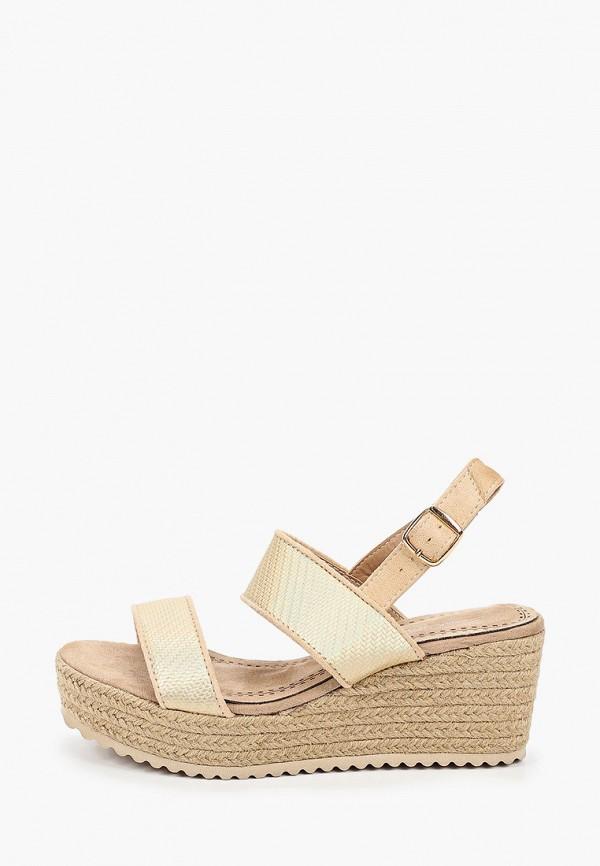 женские босоножки sweet shoes, золотые