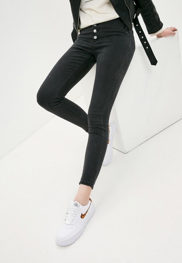 женские джинсы g&g, серые