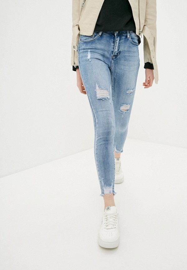 женские джинсы g&g, синие