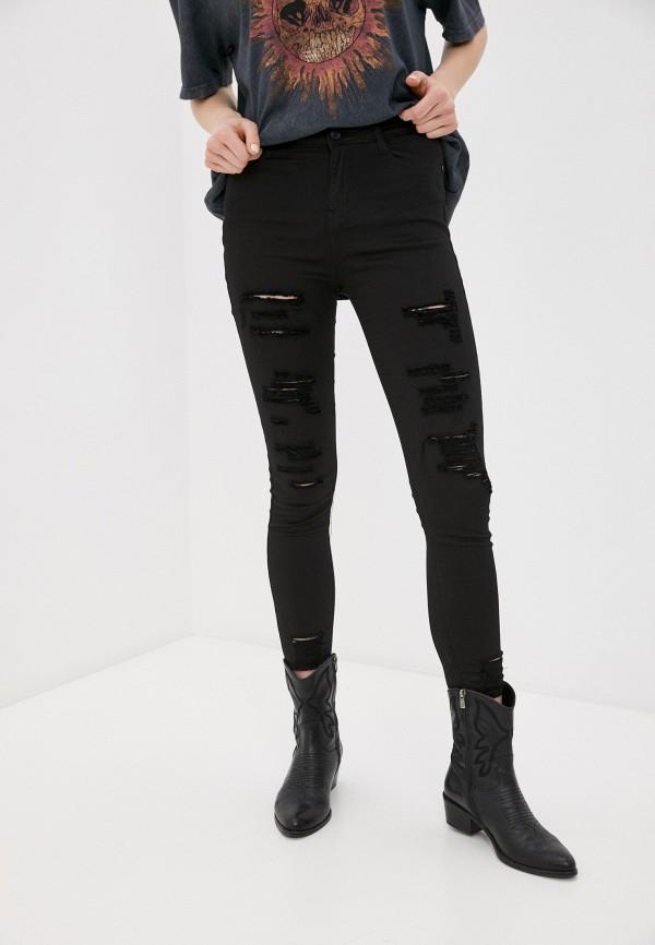 женские джинсы g&g, черные