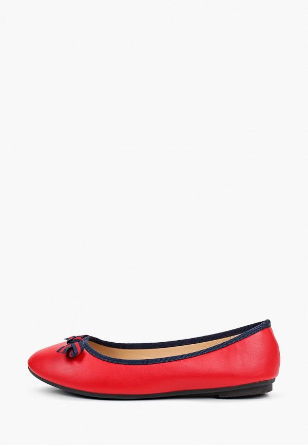женские балетки exquily, красные