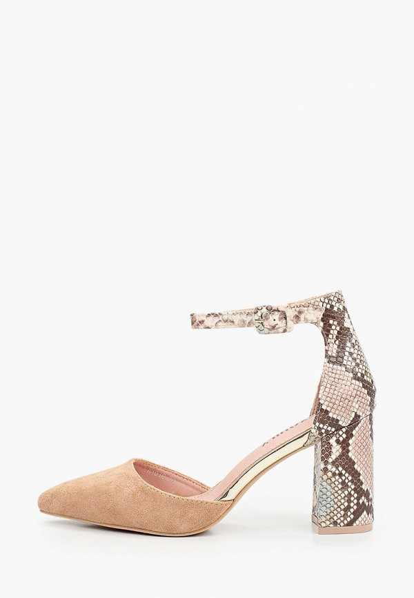 женские туфли exquily, бежевые