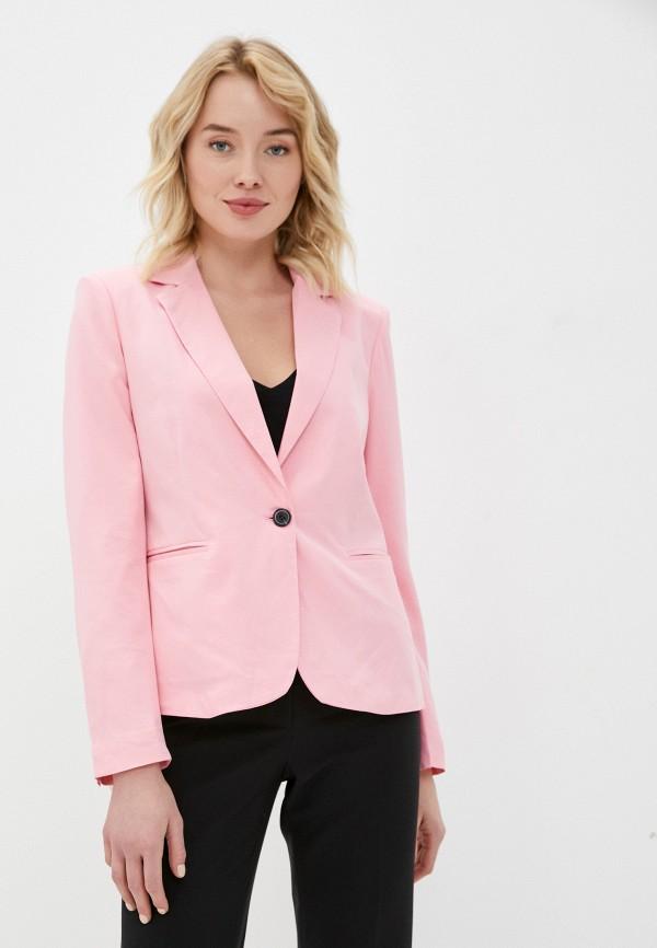 женский пиджак macleria, розовый