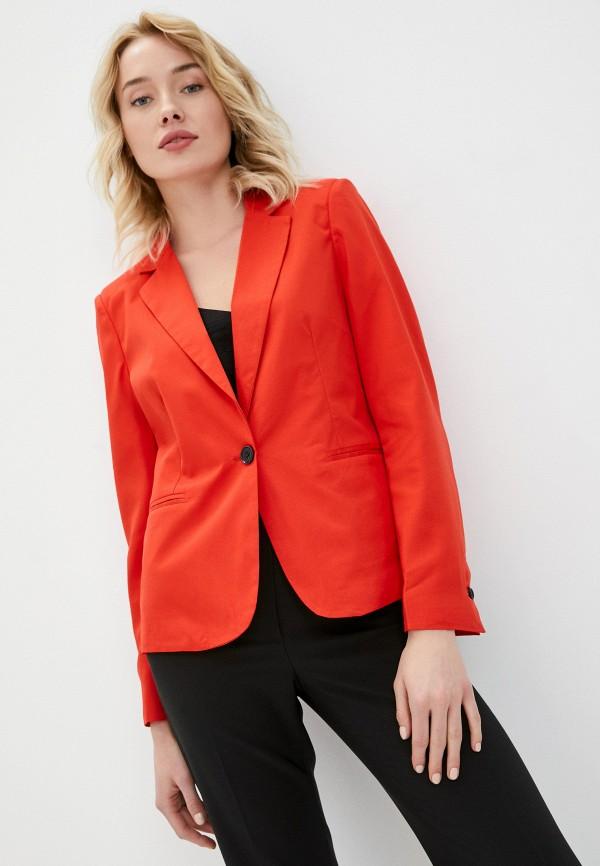 женский пиджак macleria, красный