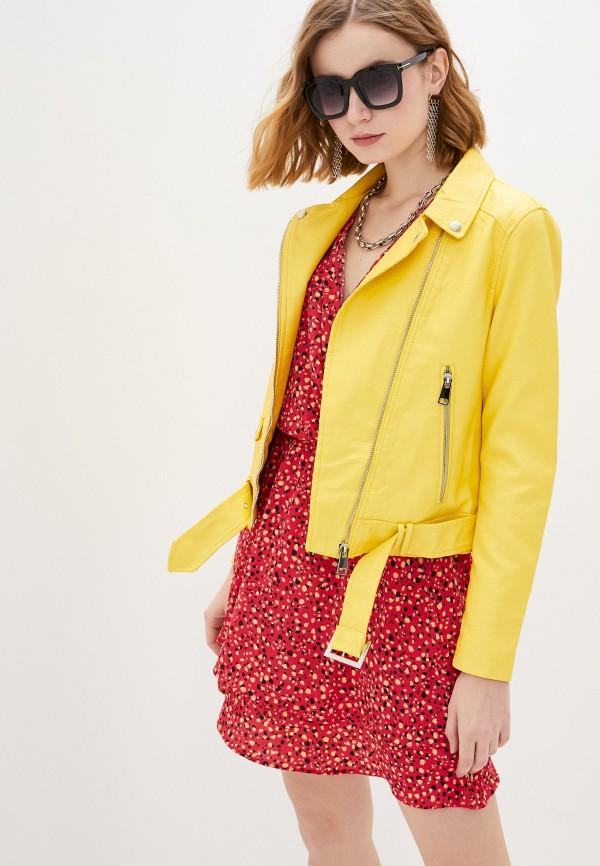 женская куртка adrixx, желтая