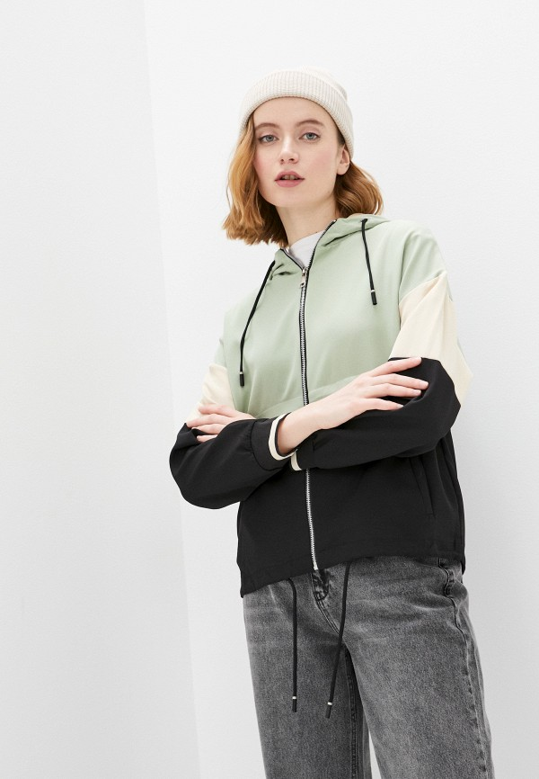 женская куртка adrixx, зеленая