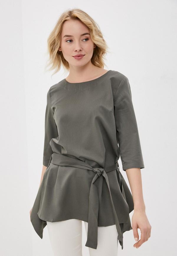 женская блузка b.style, хаки