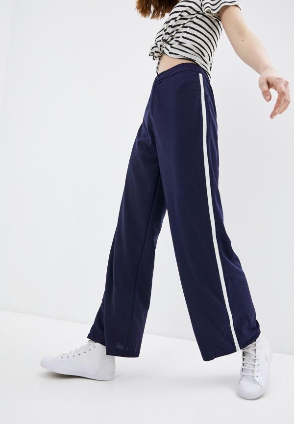 женские повседневные брюки b.style, синие