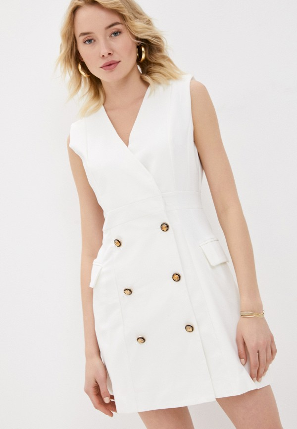 женское платье b.style, белое