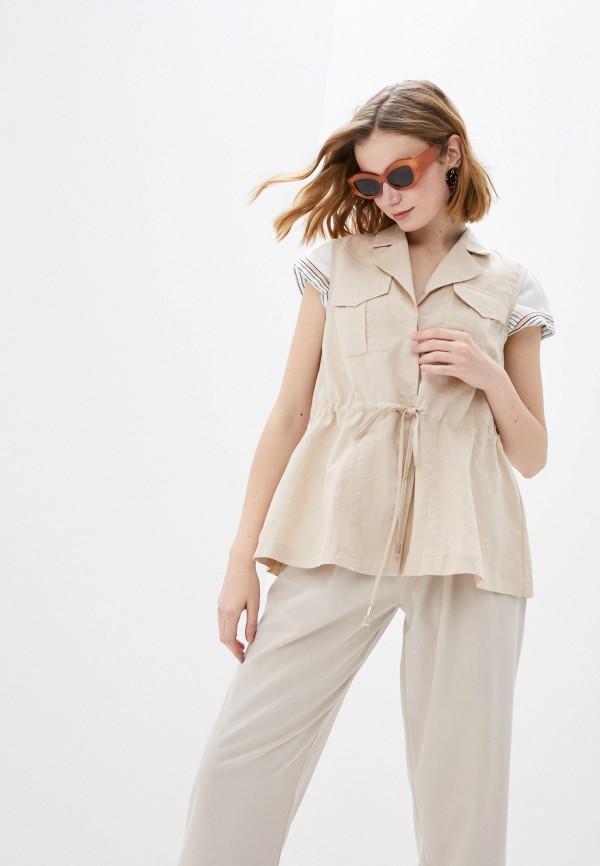 женская блузка b.style, разноцветная