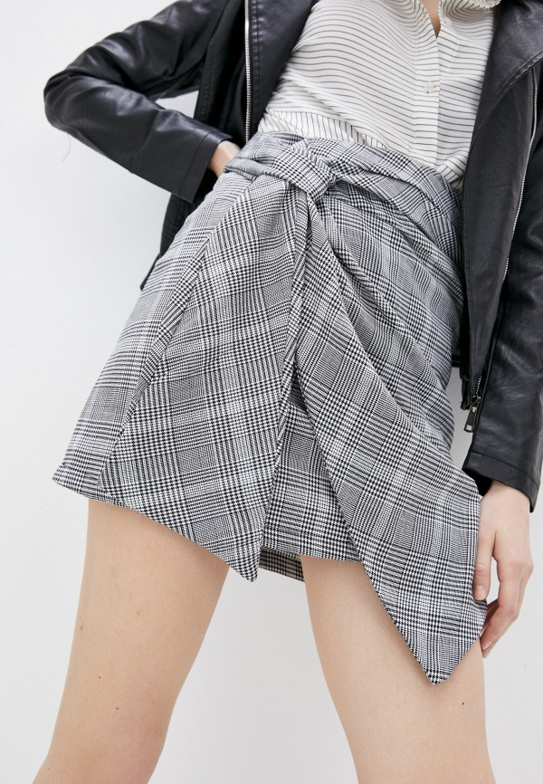 женская прямые юбка b.style, серая