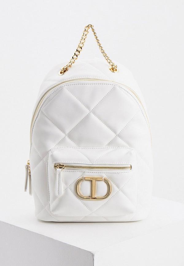 женский рюкзак twinset milano, белый