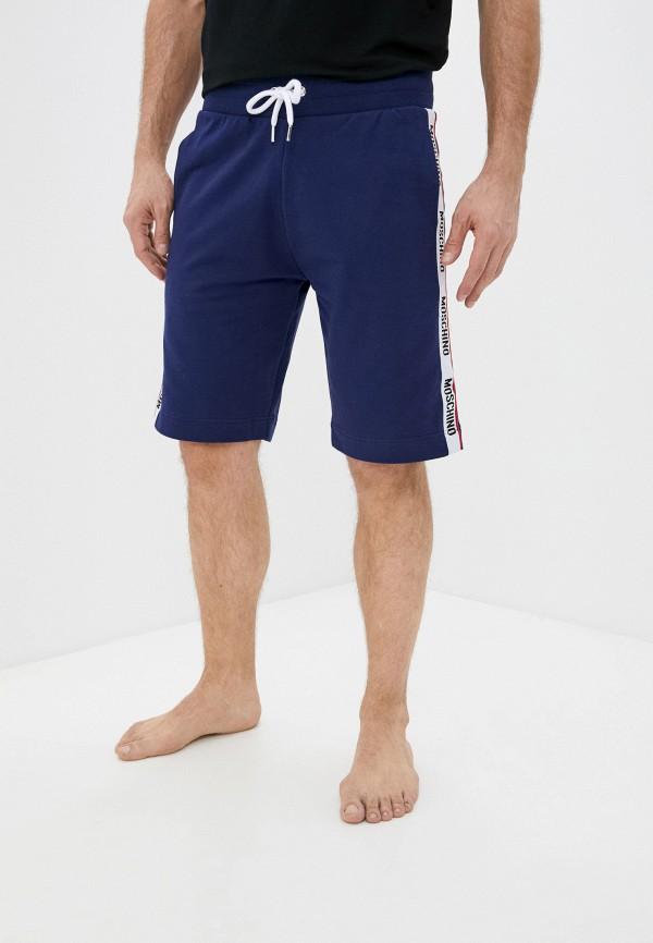 мужские спортивные шорты moschino underwear, синие