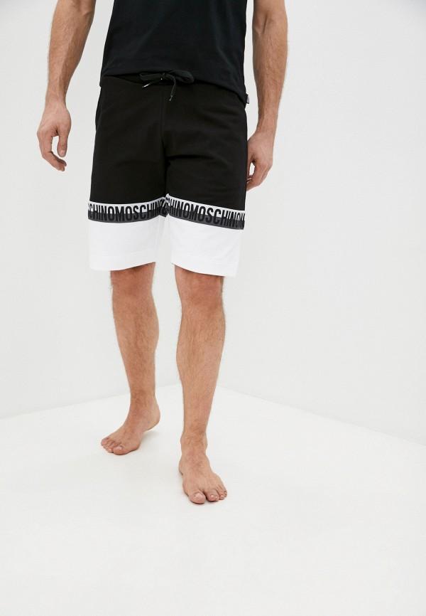 мужские спортивные шорты moschino underwear, черные