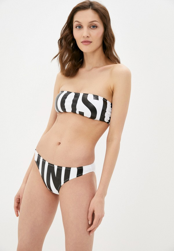 женский лиф moschino swim, белый