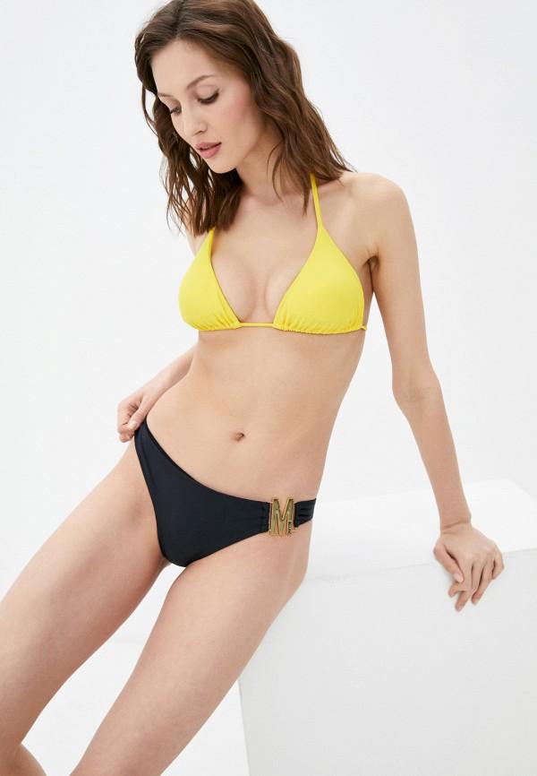 женский лиф moschino swim, желтый